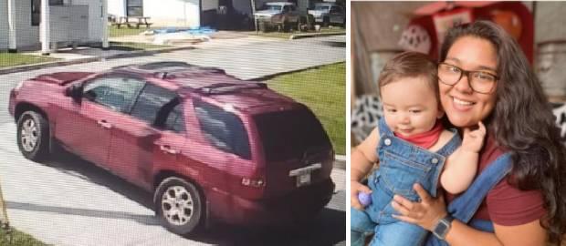 Un bărbat și o femeie au răpit un băiețel de un an din căruciorul său