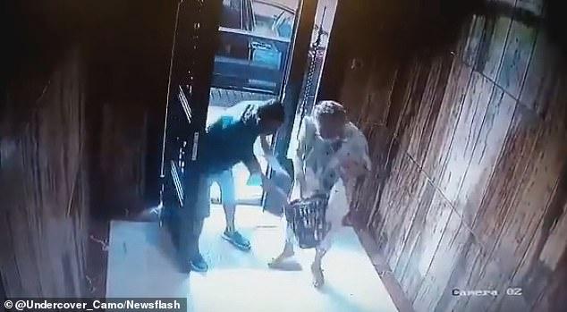 Jaf brutal al unui român de 34 de ani asupra unei bătrâne în vârstă de 85 de ani