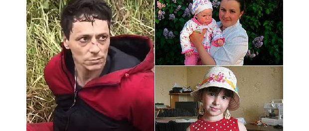 Pedofilul asasin și mama împreună cu una dintre victime