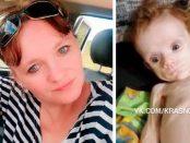 Un bebeluș doar piele și os a fost găsit ascuns în garderoba mamei